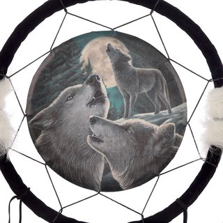 Dreamcatcher Traumfänger Wolf Wolf Song by Lisa Parker