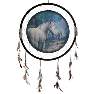 Dreamcatcher Traumfänger Einhorn XXL The Journey Home by Lisa Parker